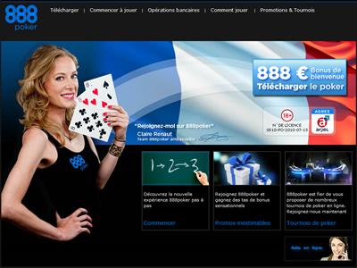 888 Poker - Site légal en France