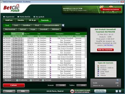 Logiciel BetClic Poker