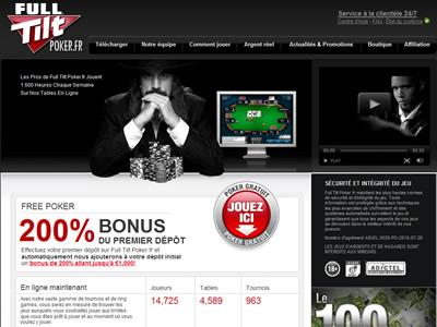 Full Tilt Poker - Site légal en France