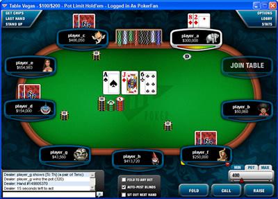 Logiciel Full Tilt Poker