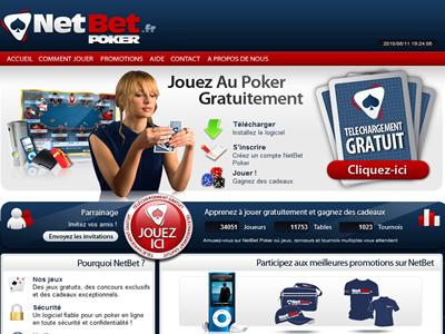NetBet Poker - Site légal en France