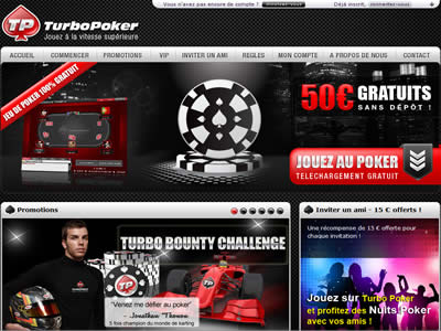 TurboPoker - Site l�gal en France