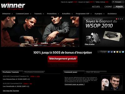 Winner Poker - Site légal en France