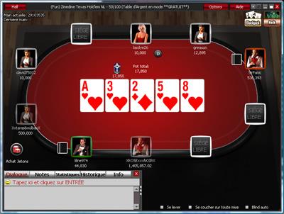Logiciel Winner Poker