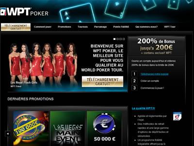 WPT Poker - Site légal en France